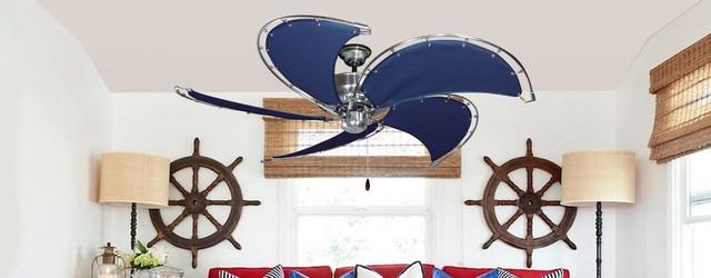 Nautical Ceiling Fans Beach Style Ceiling Fans Miami By Dan 39 S Fan City Miami
