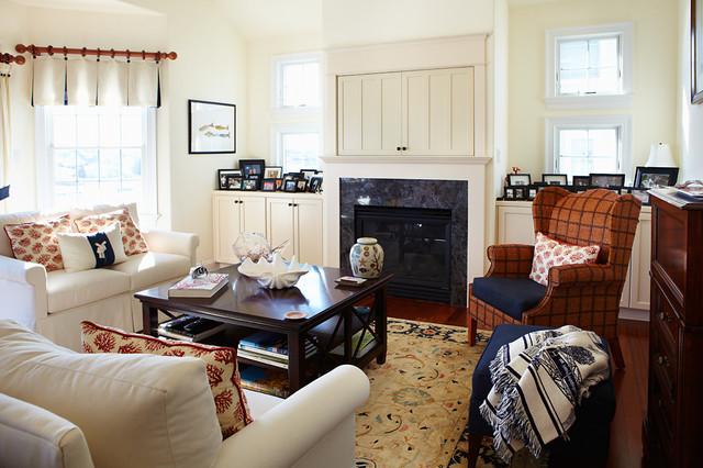 Nautical Living Traditional Living Room Philadelphia By Bridget McMul