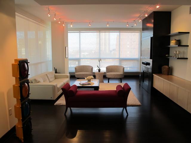 NE Minneapolis Condo contemporary-living-room