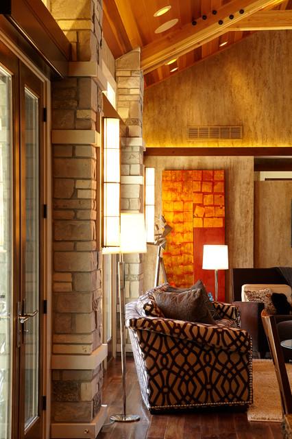 Nebraska Natural Transitional Living Room Omaha By Curt Hofer A