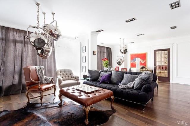 Неоклассицизм с мебелью Ralph Lauren Home и современным ...