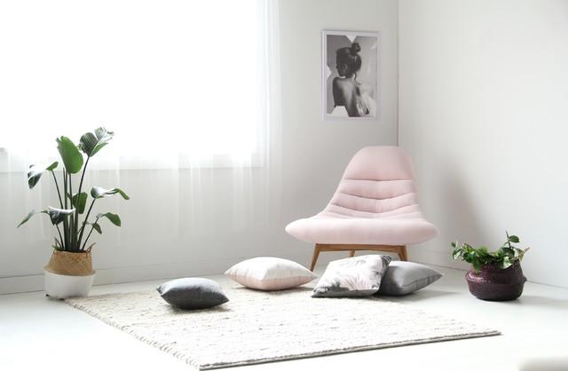 Nest Chair Comfort Rug Scandinavian Living Room