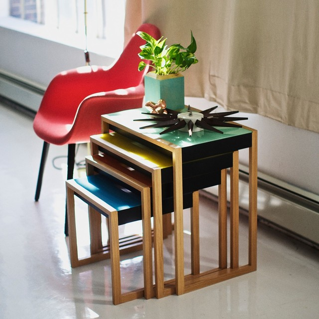 Nesting Tables By Albers Modern Living Room Los