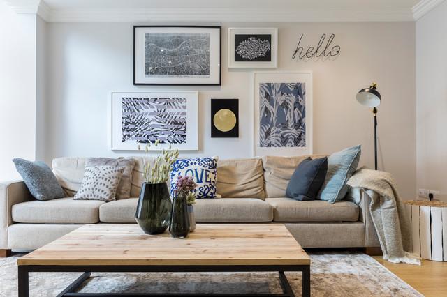 Netherwood Street transitional-living-room