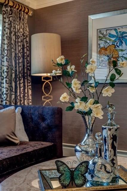 Neutral Living Room transitional-living-room