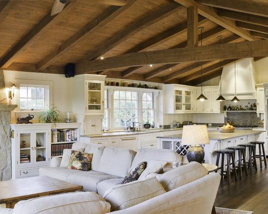 Farmhouse Open Floor Plans Home Design Photos Decor Ideas