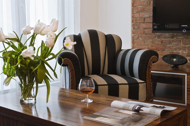 New classic flat eclectic-living-room