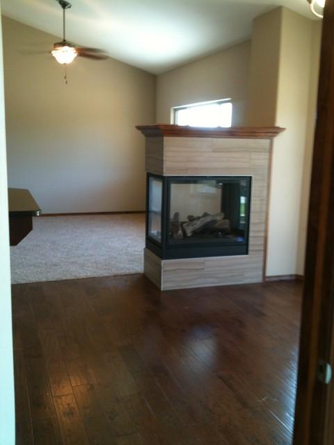 New Construction modern-living-room