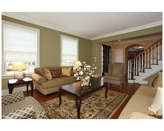 617 traditional formal living room design photos with no fireplace