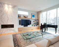 New Construction - Lawrence Park, Toronto contemporary-living-room