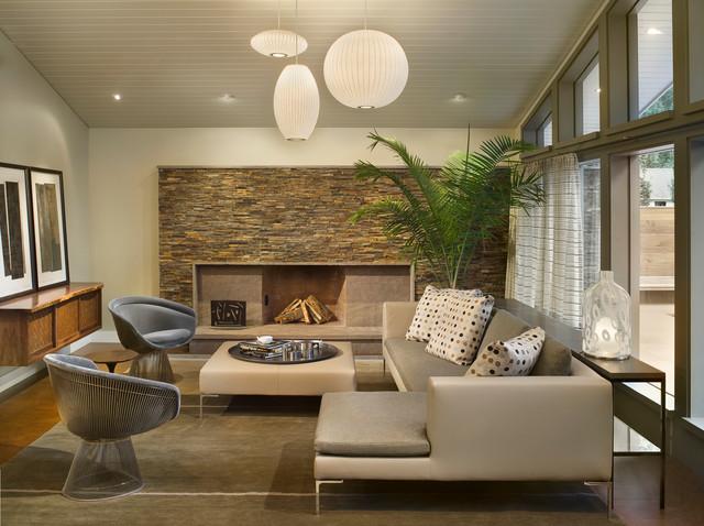 New contemporary home and property contemporary living for Living room ideas new build
