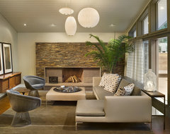 New Contemporary Home and Property contemporary living room