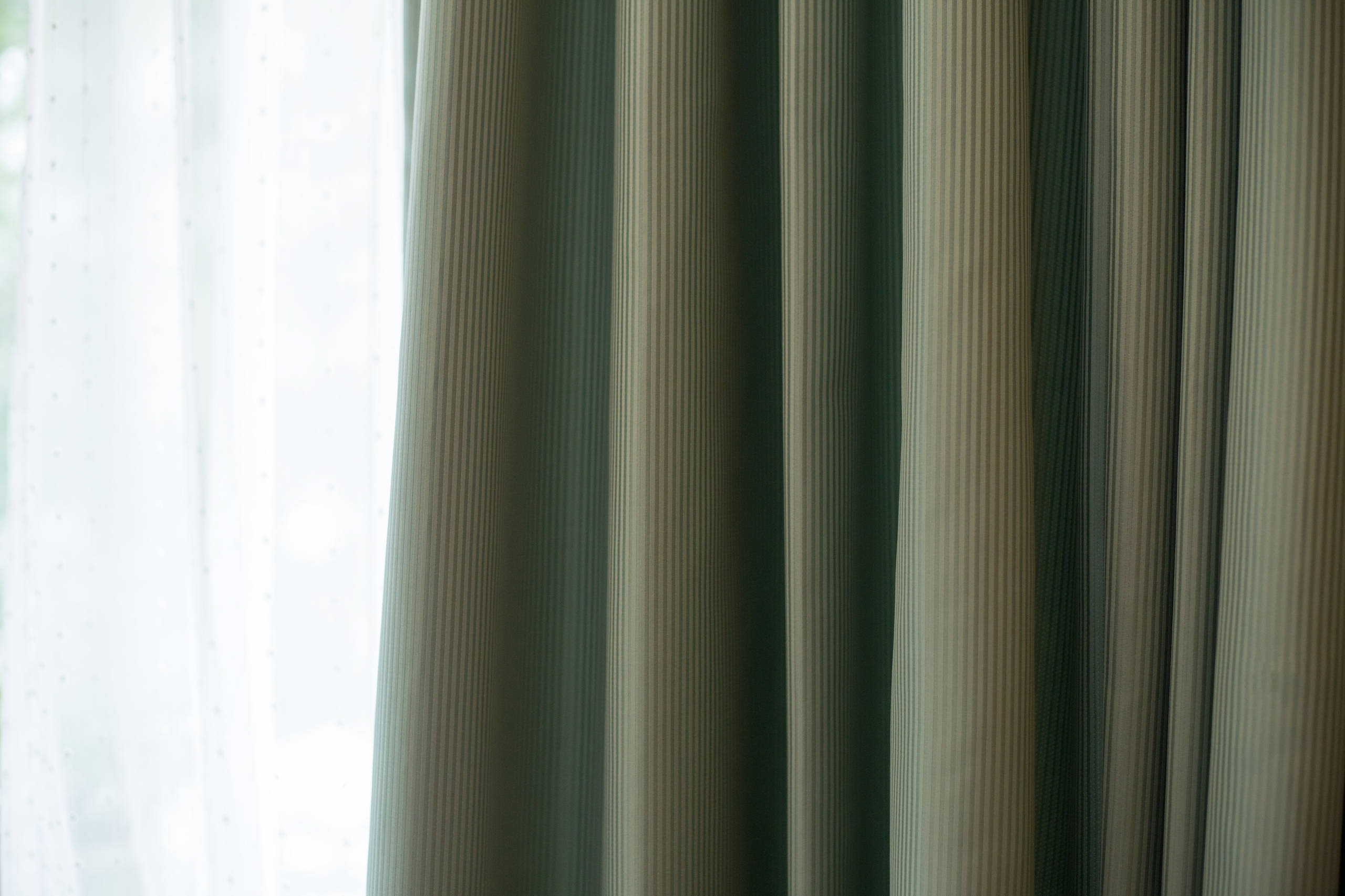 New Draperies for a three story vintage house in Connecticut