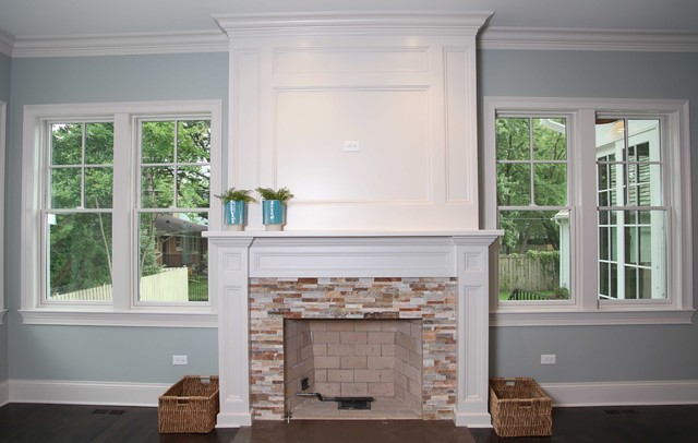 New england style home for New england style living room ideas