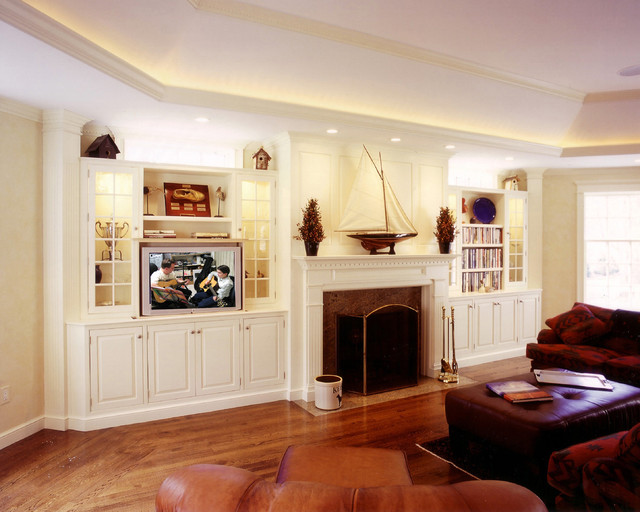 New England Traditonal Traditional Living Room Other Metro By Capitol Design Llc