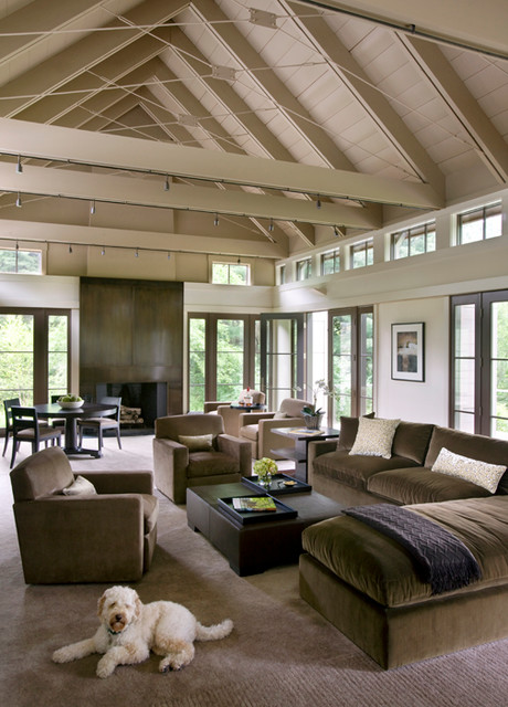 New england vernacular contemporary living room New england home interiors