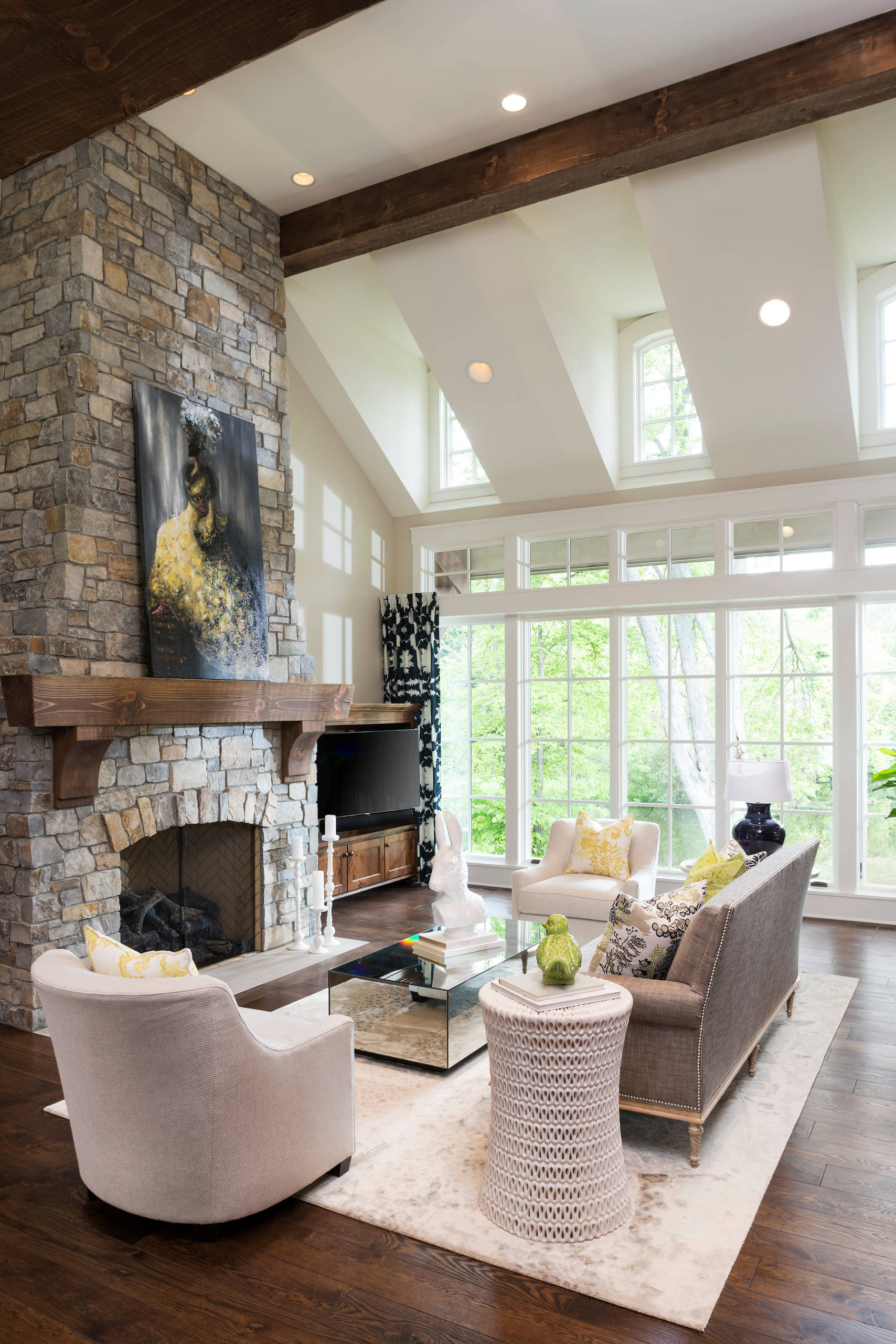 75 Beautiful French Country Living Room Pictures Ideas January 2021 Houzz
