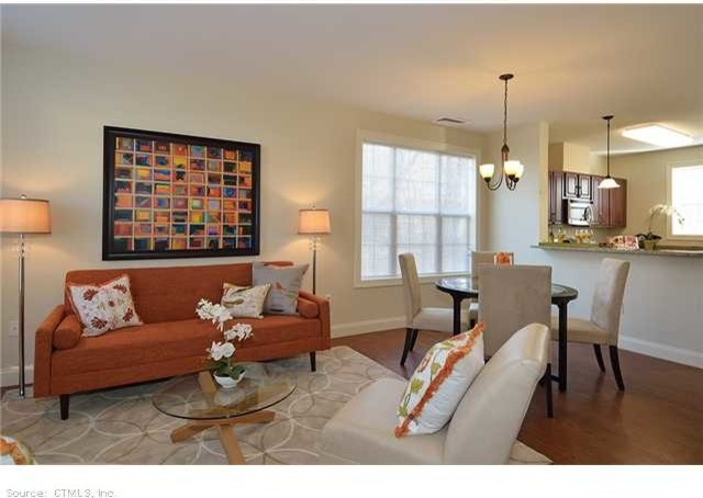New Haven, CT Affordable Housing Model Home traditional-living-room