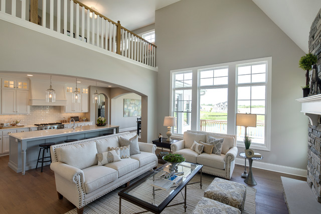 New Haven Model - 2015 Spring Parade of Homes - Living Room ...