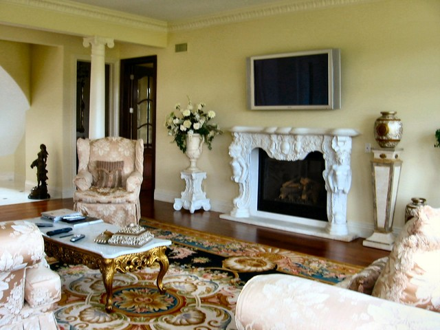 New Home Construction in Monmouth County, NJ mediterranean-living-room