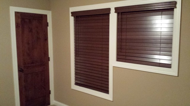 New Home in Plymouth traditional-window-blinds