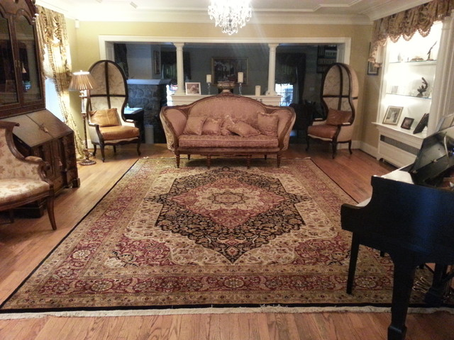 New Hope PA Formal Living Room Oriental Rug By Nejad Rugs Www.nejad.com