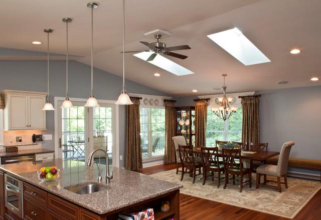 Elegant Example Of A Classic Living Room Design In Baltimore
