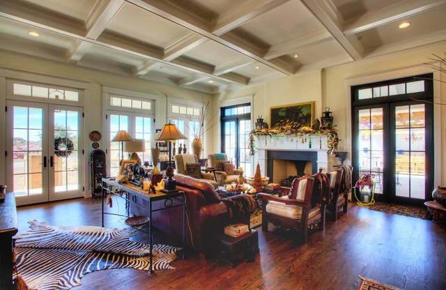 New Orleanian | Plantation Style In The Texas Hill Country  Eclectic Living Room
