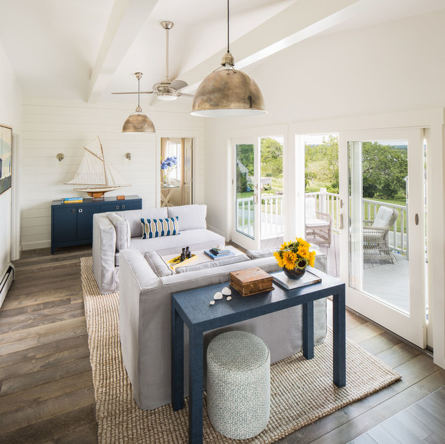 NEW PROJECT! Modern Beach Cottage - Beach Style - Living ...