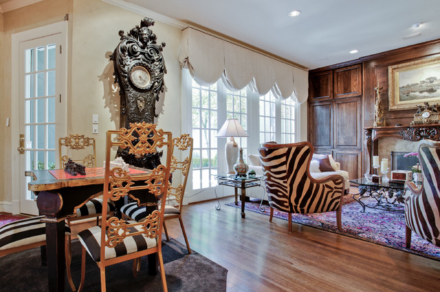 New traditional whole home update for Traditional eclectic living rooms