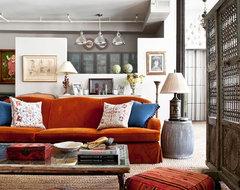 New York City Loft eclectic-living-room