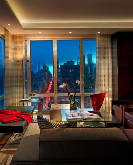New york manhattan denier residence for Manhattan interior decorators