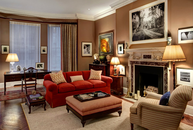 New york townhouse transitional living room other for Interior design living room townhouse