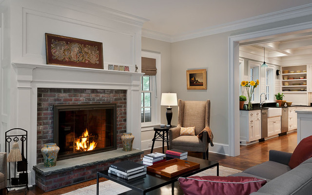 New York Transformation Traditional Living Room New