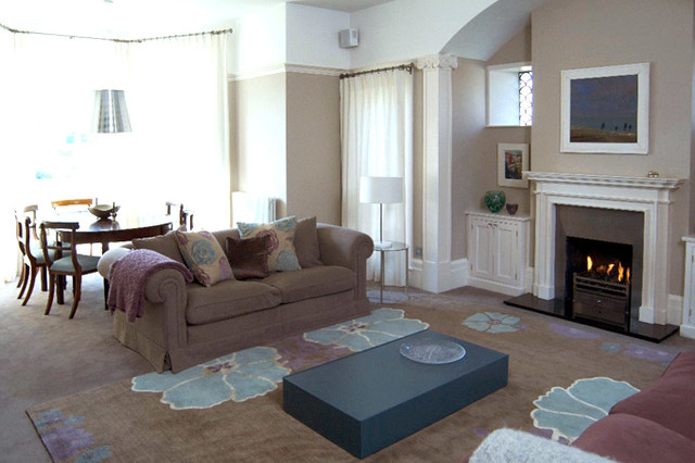 Newnham traditional living room cambridgeshire by for At home interior design consultants