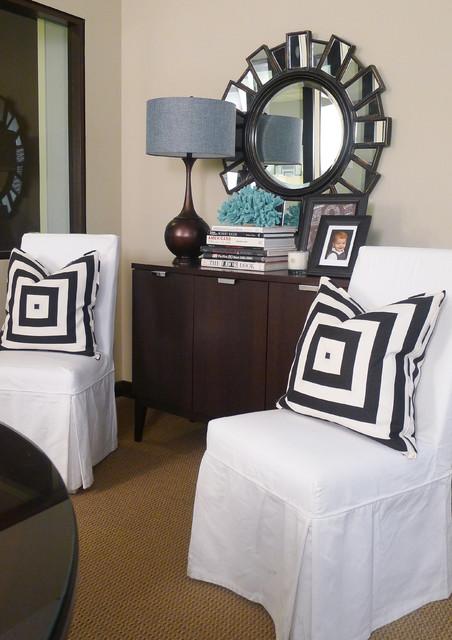 Newport Beach, CA contemporary-living-room
