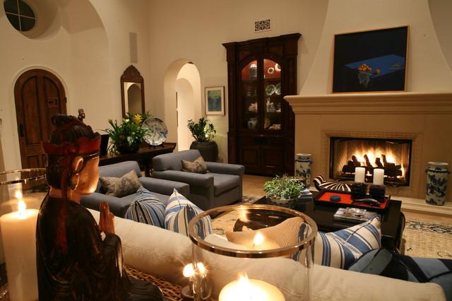 Newport Beach House traditional-living-room