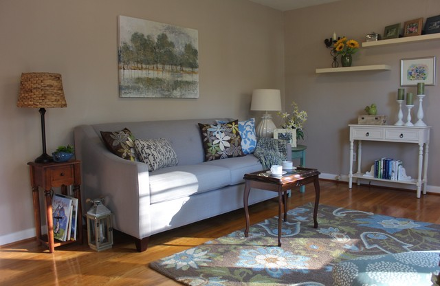 newport news va transitional living room other by