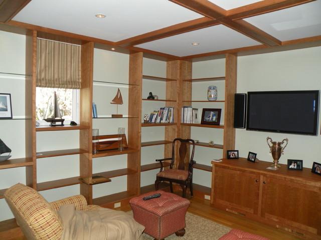 Newport, RI traditional-living-room