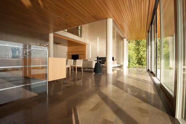Nick Milkovich - West Vancouver Residence modern-living-room