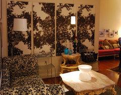 Nicole Lanteri eclectic-living-room