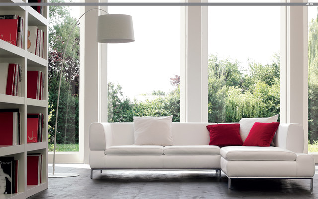 Nicoline Contemporary Leather Furniture At Castle Furniture Contemporary Living Room