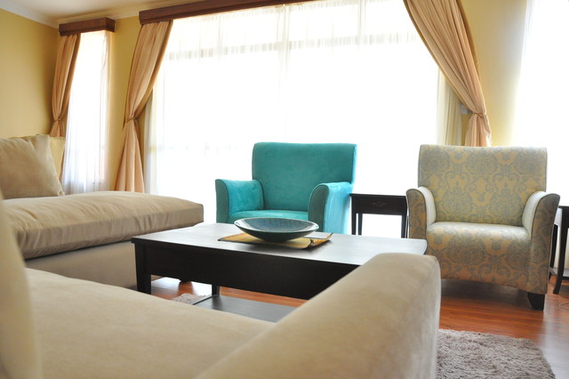 Nilote Interiors Riara Rd Furnished Residential Apartment NairobiKenya Contemporary Living Room