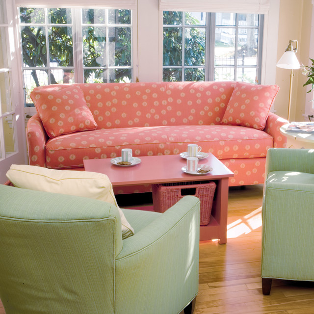 Nina Sofa - Traditional - Living Room - Baltimore - by Maine Cottage