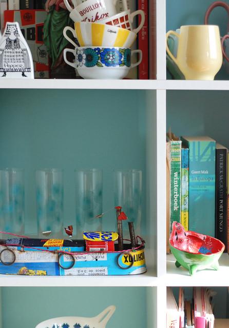 Nina van de Goor's Home eclectic-living-room
