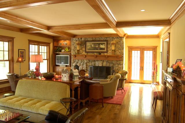 Nod Hill Road traditional-living-room