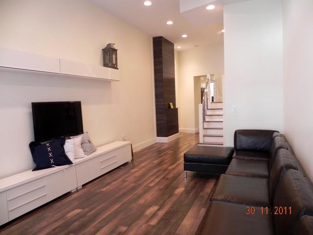 NOLA Townhouse Living Room contemporary-living-room