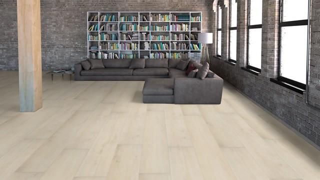 Nordland Vinyl Plank Flooring Wood Grain Contemporary Living Room San Diego By Flooret