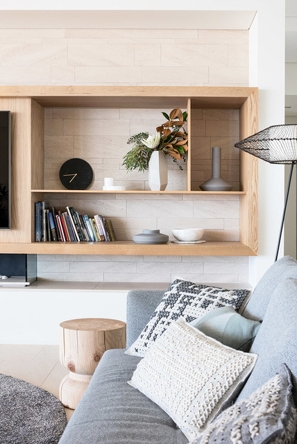 North beach house scandinavian living room perth by turner interior design - Scandinavian furniture perth ...