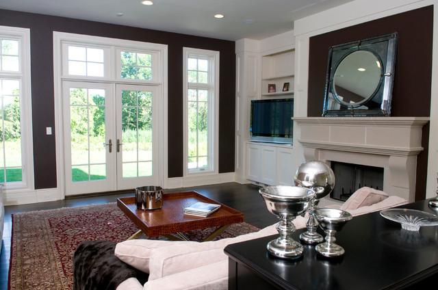 North Caldwell NJ traditional-living-room